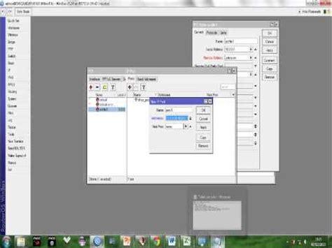 membuat vpn mikrotik rb750 konfigurasi vpn pptp pada mikrotik rb750 2nd by plolong