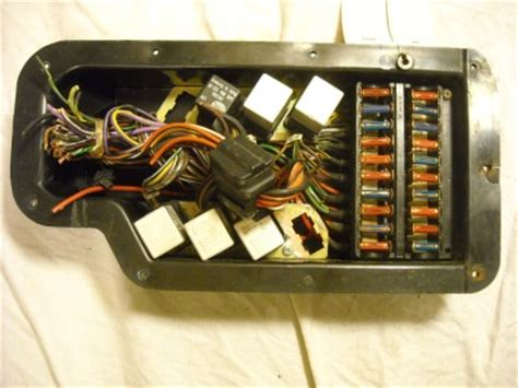 mercedes 450sl fuse box mercedes free engine image