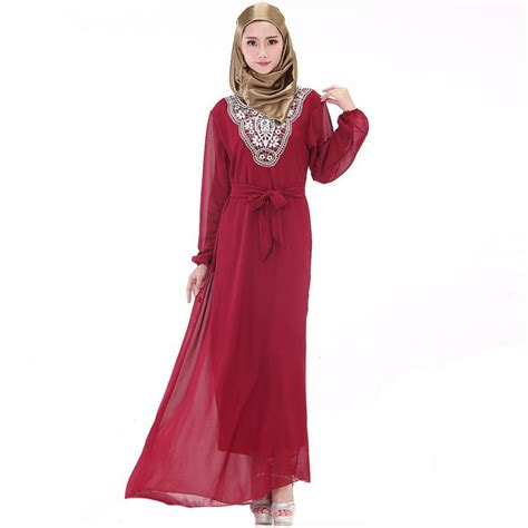 plus size chiffon dress 2017 new sleeve maxi dresses in ethnic style solid lace o neck