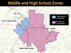 school locations and attendance maps
