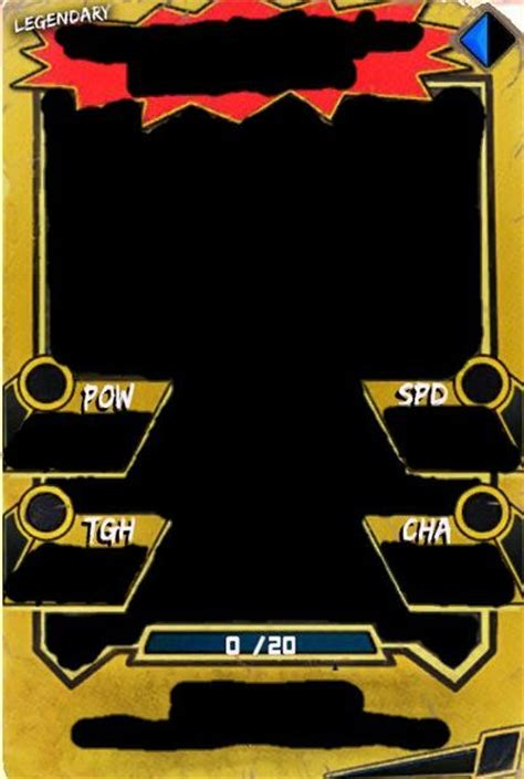 legendary card template custom supercards amino