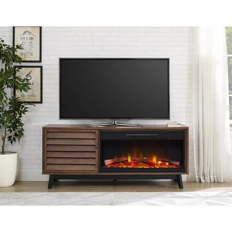 Fireplace Der Cl Home Depot by Walker Edison Furniture Company 70 In Wood Media Tv Stand