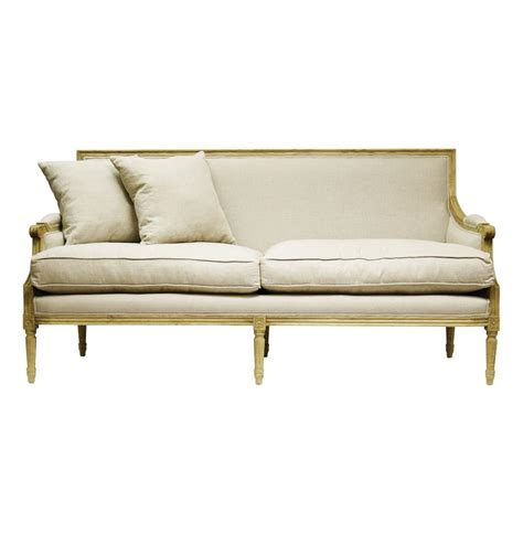 french country sofa st germain french country natural oak louis xvi natural