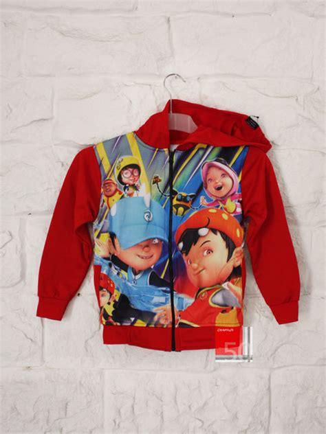 Jaket Anak Kiddos Hoodie Size 2 4 6 Hitam Abu Khg 16 jual jaket hoodie boboiboy printing motif 4 size xl