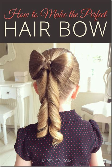 How To Make Hairstyles by 1000 Ideas About Bow Hairstyles On Hair Bow