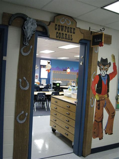 Western Decorations For Classroom by Classroom Western Theme Bulletin Board Door Decorations
