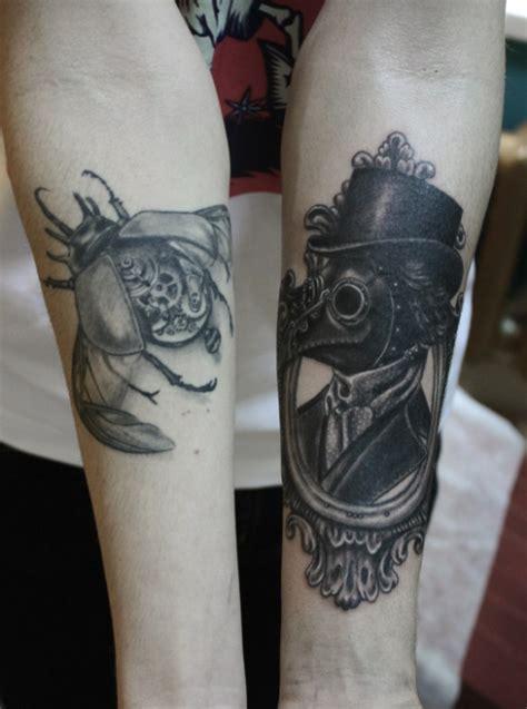 plague doctor tattoo plague doctor