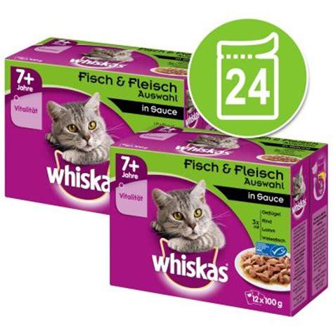 Whiskas Sachet whiskas 7 senior 24 x 100 g sachets pour chat zooplus