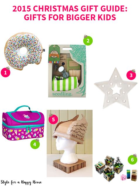 2015 christmas gift guide gifts for bigger kids style