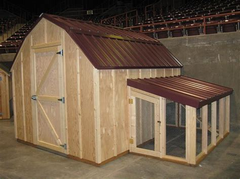 Shed Chicken Coop by Chicken Coop Plans With Material List The Poultry Barn