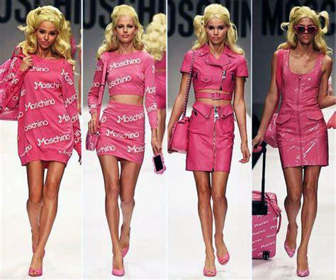 spring fashion for 40 something 2015 moschino barbie sotto il vestito una strategia brandjam
