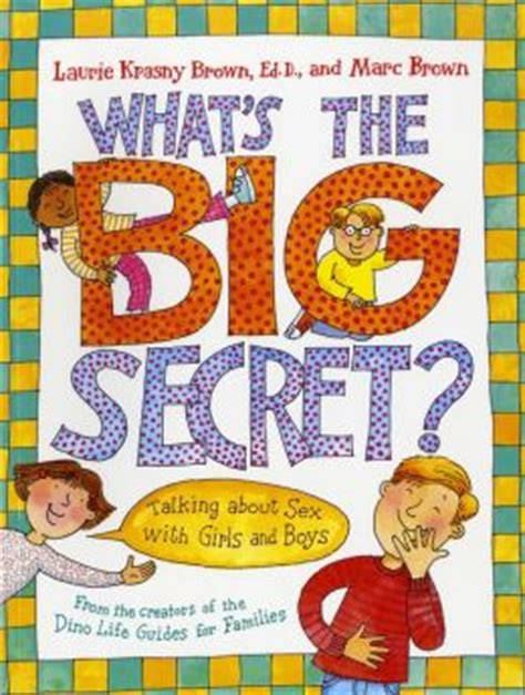 the talking part is books what s the big secret talking about with and