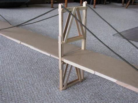Popsicle Stick Suspension Bridge Popsicle Stick Suspension Bridge Garrett S Bridges