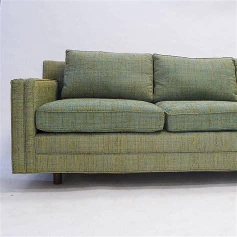 Harvey Probber Two Piece Tuxedo Sectional Textured Tuxedo Sectional Sofa