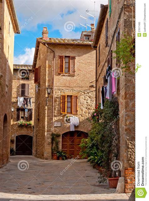 pienza tuscany italy stock image image  pienza