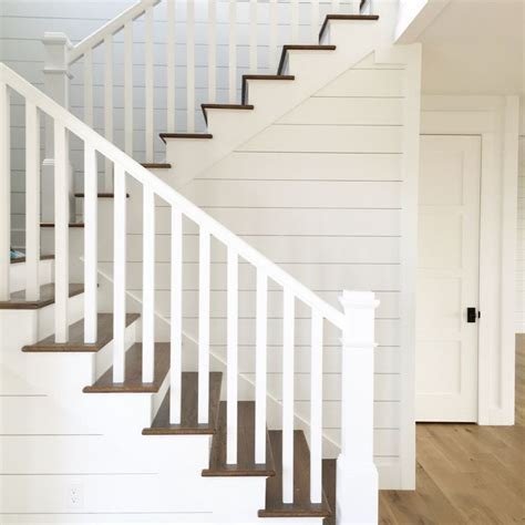 Image result for farmhouse stair railing   House Interior