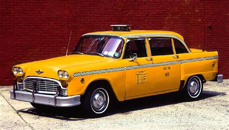 a cab checker cab on the real