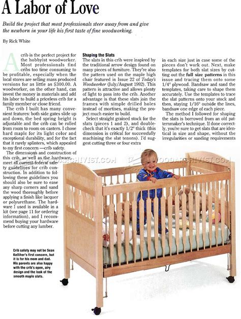 baby cot plans free image mag baby crib plan warehousemold