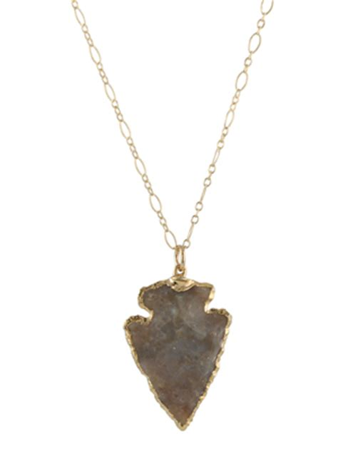 Steals Deals 15 Peggy Li Jewelry by Southwest Arrowhead Necklace Necklaces Handmade