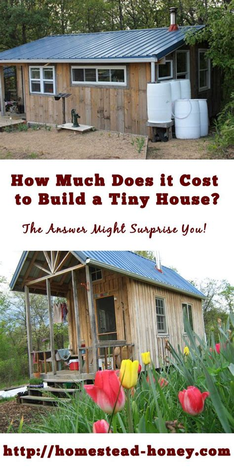 how much does a tiny house cost diy building vs buying tiny house picmia