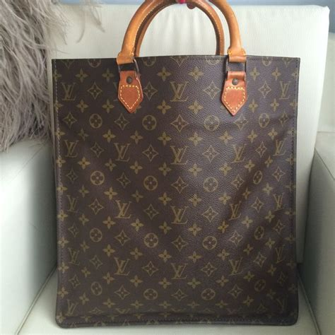 louis vuitton tas louis vuitton sac plat monogram tas shopper catawiki