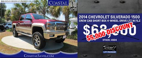 inventory coastal chevrolet cadillac in pawleys island sc