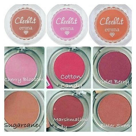Jual Blush On Emina emina cheeklit pressed blush on 183 shecharming