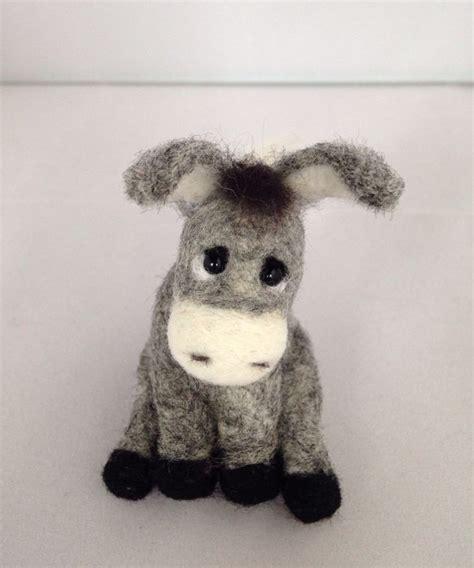 pattern for felt donkey needle felted animal needle felted donkey felted animal