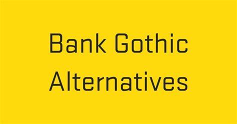 font bank fontshop bank alternatives