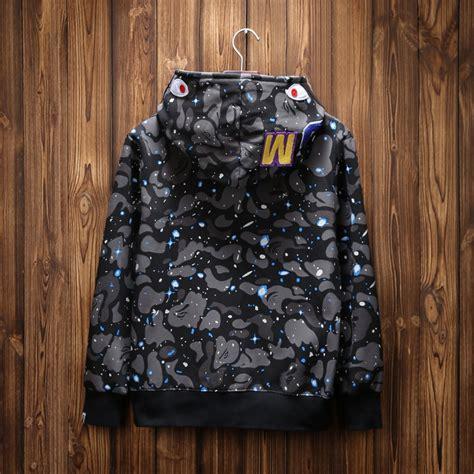 T Shirt By Bathing Ape Bape Camo Import Premium a bathing ape bape shark hooded hoodie coat camo zip