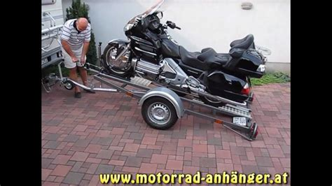 Motorrad Anh Nger Hp 400 by Simple Load Motorradanh 228 Nger Youtube