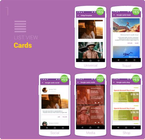 material design ui android template app by creativeform material design ui android template app by creativeform