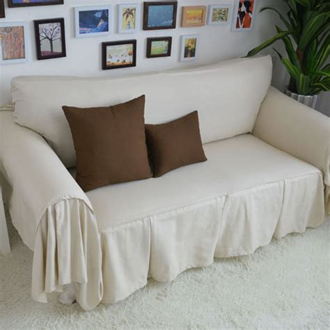 decorative sofa cover sectional modern slipcover beige