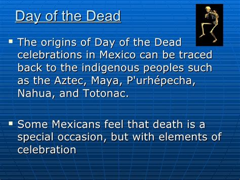 Mexico Presentation Day Of The Dead Powerpoint