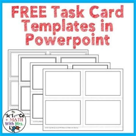 Best 25 Free Task Cards Ideas On Pinterest 4th Grade Math Teaching Multiplication And Fractions Task Card Template 2