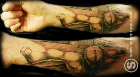 tattoo 3d jesus jesus tattoo secret ink tattoo