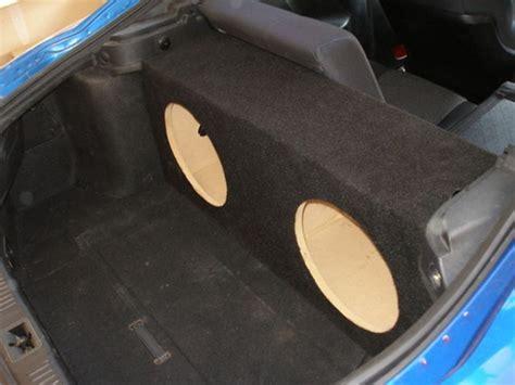 hyundai tiburon subwoofer custom sub enclosure affordable sub box