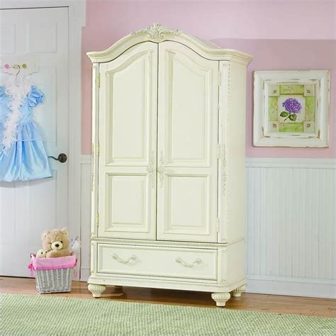 antique white armoire lea jessica mcclintock romance tv wardrobe armoire in antique white 203 122