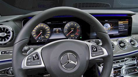 mercedes e class coupe 2017 interior edition 1