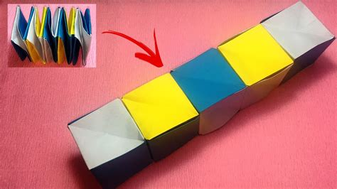 Origami Seamless Cube - origami fair paper cubes origami paper cube origami