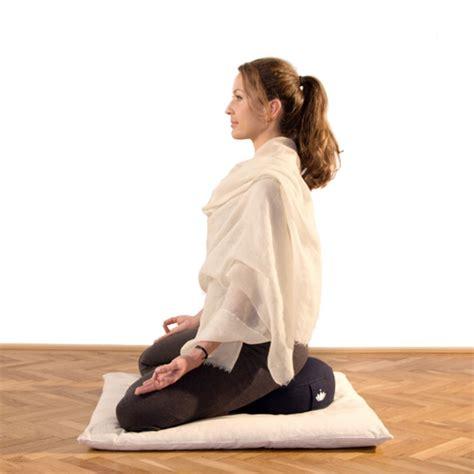 cuscino meditazione cuscino da meditazione lotus basso lotuscrafts