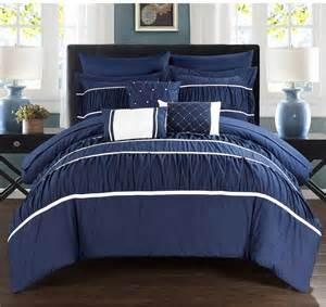 zachary bedroom set navy blue