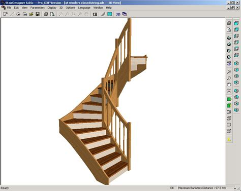 staircase design software how to calculate and design a stair using free software stair design software