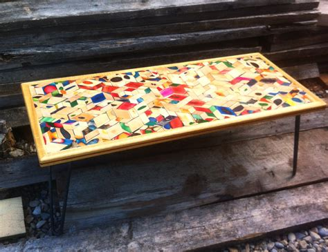 pretty tables pretty mosaic coffee table house photos creative