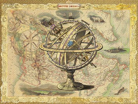Decorative Air Vents Free Illustration Map Compass Nautical Vintage Free
