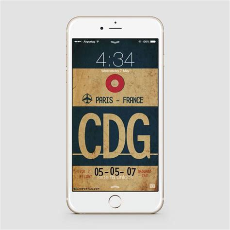 Iphone Cdg With Box airport code phone iata code cdg mobile cover airportag