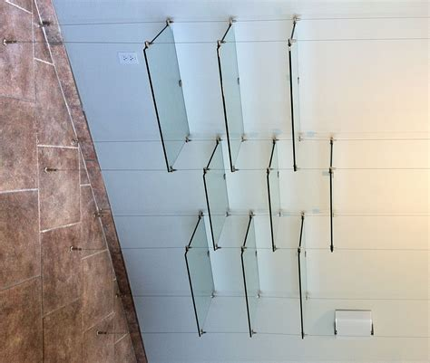 suspended cable shelves for ventana systems