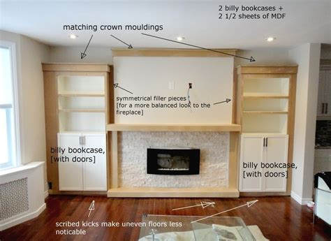 Built Ins Around Fireplace Diy by Built Ins Fireplace Search New House