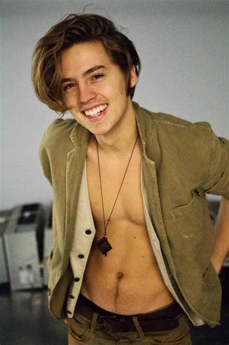 Cole Sprouse ?I?m Smiling Because I?m Not Wearing Any