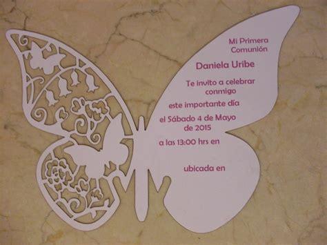 imagenes de invitaciones mariposas invitacion mariposa corte laser impresi 243 n digital 18